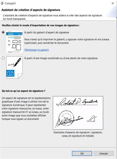 Exemple De Lettre Avec Signature P O Guide Utilisateur De Consigno Desktop Notarius