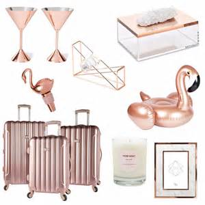 Home Decor Gifts by Rose Gold Home Decor Gifts Popsugar Home