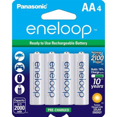 Ac 3 4 Pk Panasonic panasonic eneloop aa rechargeable ni mh batteries bk 3mcca4ba