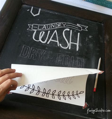 diy chalkboard writing poofy cheeks diy achieve chalkboard designs and