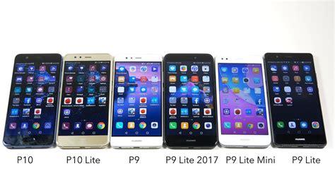 huawei p10 vs p10 lite vs p9 vs p9 lite 2017 vs p9 lite mini vs p9 lite