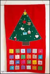 big k little g diy felt christmas tree advent calendar