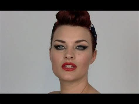 quick and easy retro hairstyles easy quick vintage hairstyle youtube