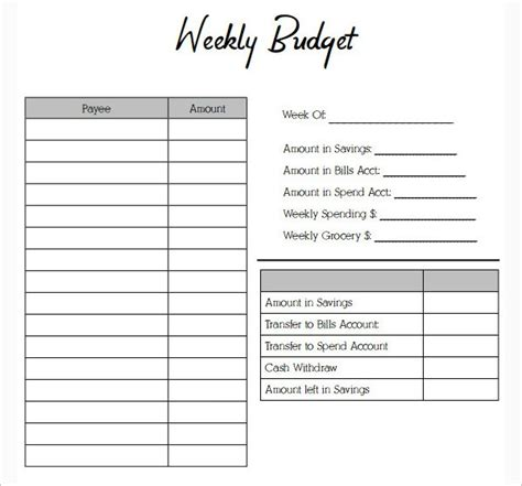 budget template simple budget template monthly budget template simple