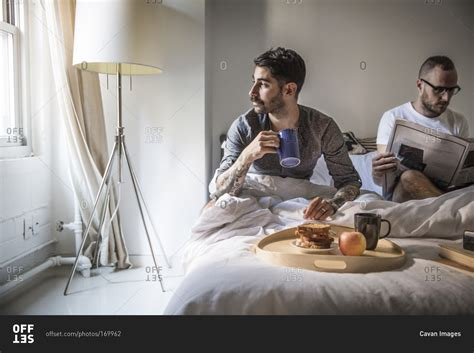 gay bed and breakfast new york ny usa october 5 2010 gay men having
