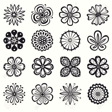 imagenes en blanco y negro de flores flores blanco y negro im繝筍genes de archivo vectores flores