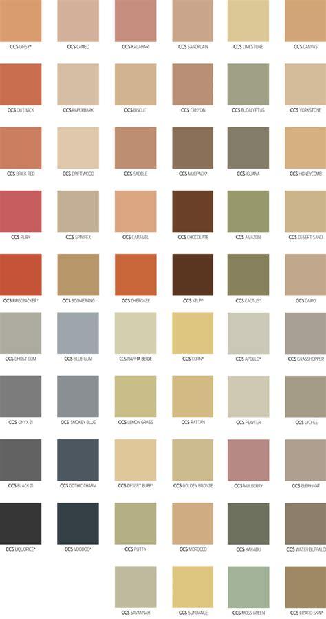 concrete color chart coastwide readymix concrete colour charts colour