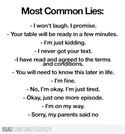 this post is just a most common lies the check and my last