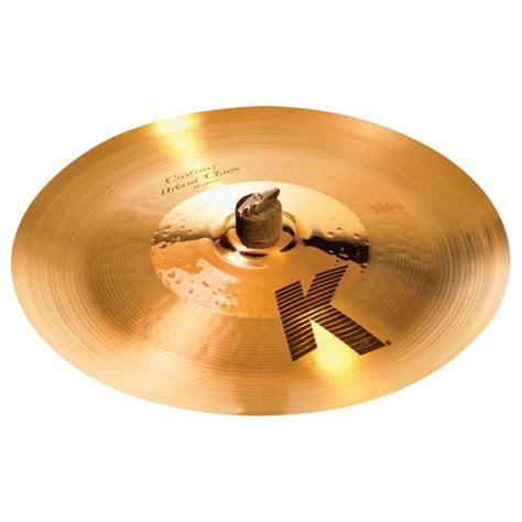 Handmade Cymbals - zildjian 17 quot k custom hybrid china cymbal china cymbals