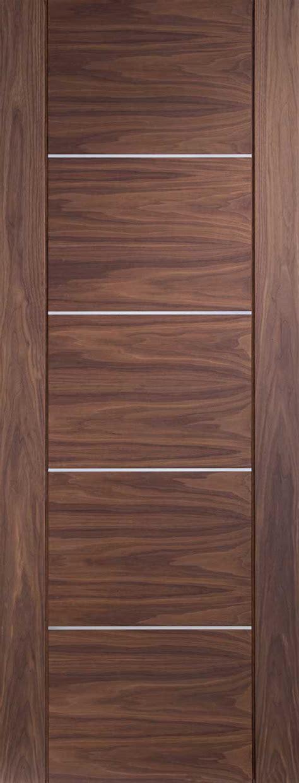 Interior Walnut Doors Portici Inlaid Pvc Door