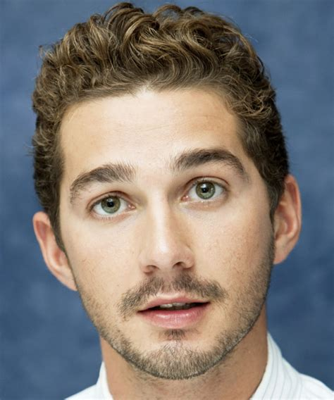 Shia Labeouf Hairstyle by Shia Labeouf Wavy Formal Hairstyle