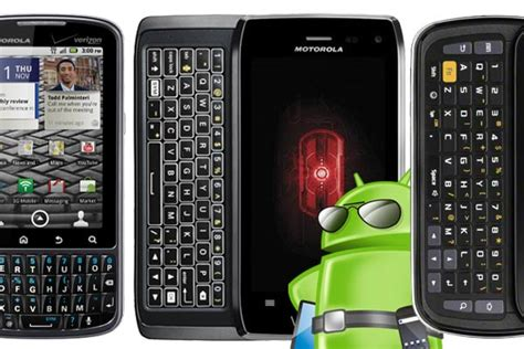 Android Qwerty by Top Best Keyboard Qwerty Android Phones 2012