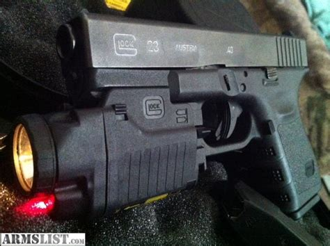 glock 17 laser light armslist for sale glock23 with glock light laser