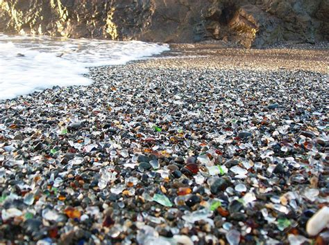 sea glass beach glass beach nature corrects another of our mistakes