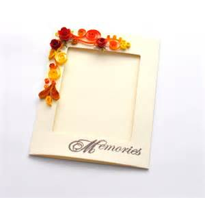 paper quilling card quilling photo frame paper frame quilled