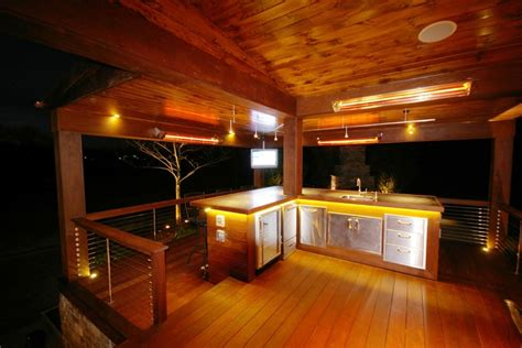 outdoor kitchen lighting fixtures landscaping services bucks montgomery county