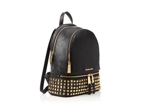 Mk Backpack Studded michael michael kors small rhea zip studded backpack in