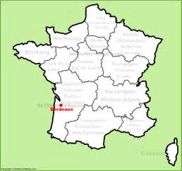 bordeaux location on the map