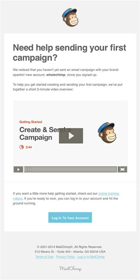 design email online retention email design from mailchimp really good emails