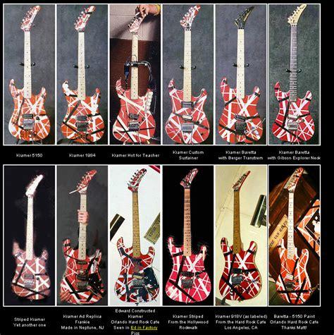 eddie van halen kramer eddie van halen guitar collection www imgkid the