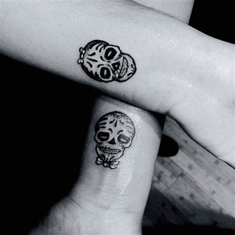 matching skull tattoos 17 best images about his and hers on