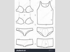 Underwear Templates Stock Vector 44511421 - Shutterstock Fashion Illustration Templates Men