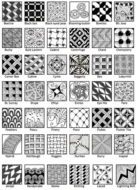zentangle pattern websites zentangle patterns