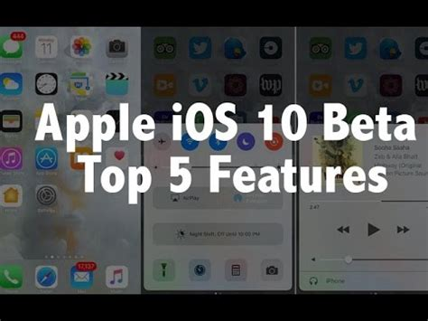 10 Best Images About Beta apple ios 10 beta top 5 features