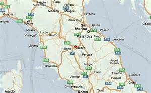 Arezzo Italy Map by Arezzo Location Guide