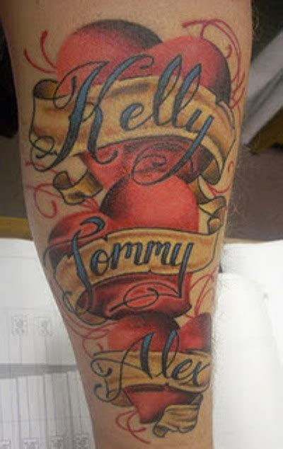 name banner tattoo designs banners and tattoos