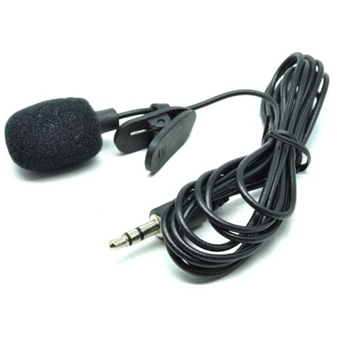 Best Seller Micropone Tanpa Kabel 2 Pcs 3 5mm microphone with clip for smartphone laptop tablet pc black jakartanotebook