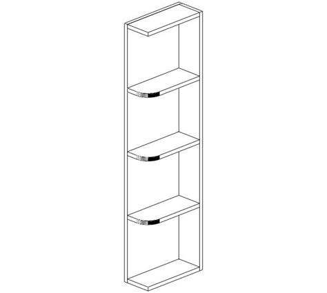 wes542 shakertown wall end shelf wall cabinets wes542 ice white shaker wall end shelf kitchen cabinets