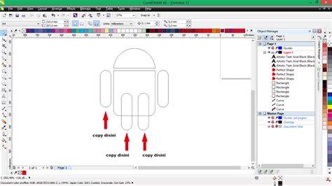 membuat watermark di coreldraw membuat logo android di coreldraw d art