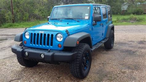 Jeep Wrangler For Sale Louisiana 2012 Jeep Wrangler Unlimited For Sale In West