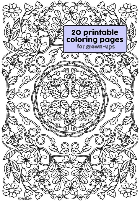 high quality coloring pages for adults 587 best coloring pages images on mandalas