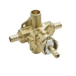 Pex Outdoor Faucet Moen Brass Rough In Posi Temp Tub And Shower Valve 1 2