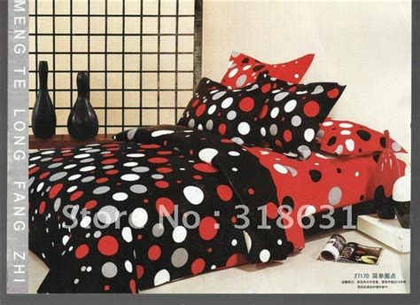 Bedcover Set 180x200x20cm Jaxine Polkadot Black Pink 17 Best Images About For The Home On Bedding