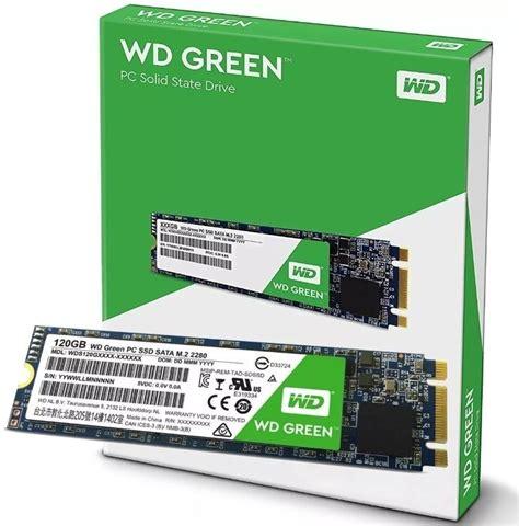 Ssd 120gb Wd Green Sata 3 hd ssd m 2 m2 sata wd green 120gb 2280 wds120g1g0b r