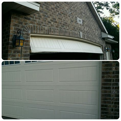Garage Door 16x8 by Real Time Service Area For All American Door Co Montrose Mn