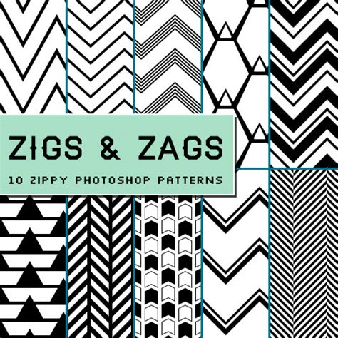 pattern downloads for photoshop freebie chevron zig zag photoshop patterns geekery