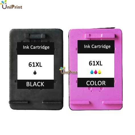 hp 61 tri color ink cartridge aliexpress buy 2pk for hp 61 61xl hp61 black tri