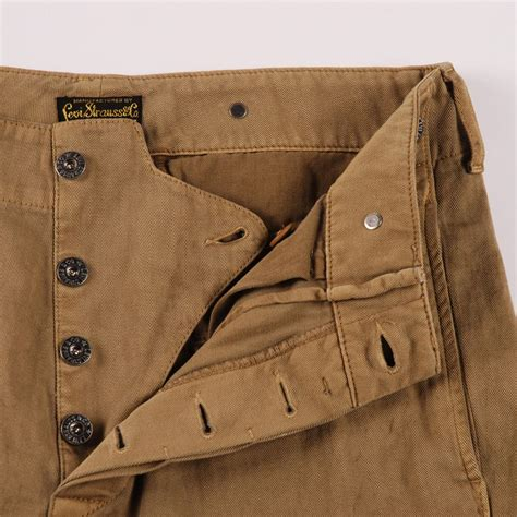 levis vintage 1920 s chino brown otter chinos