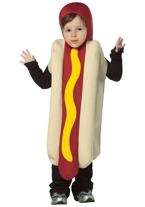 wiener costume toddler hotdog costume food costumes costumes