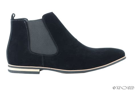 Ankle Chelsea Boots mens suede chelsea boots italian style smart casual desert