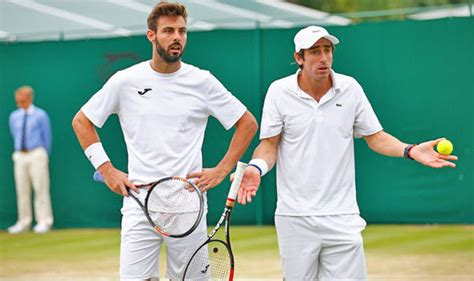 express wimbledon wimbledon news pablo cuevas and marcel granollers stage