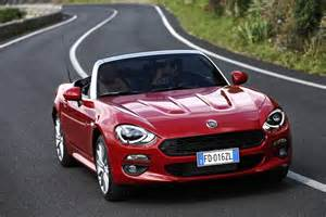 Fiat 124s New Fiat 124 Spider Priced From 163 19 545 In The Uk