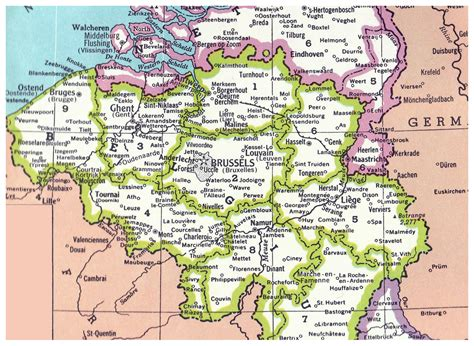 map of belgium with cities detailed belgium administrative map belgium detailed