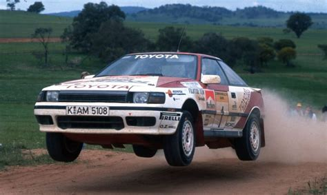 toyota 1980s history of toyota in world rallying 1980s