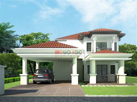 bungalow design duo edge architecture design studio bungalow at kajang