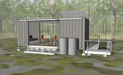 shipping container homes green off the grid shipping jetson green tiny idea house in a shipping container